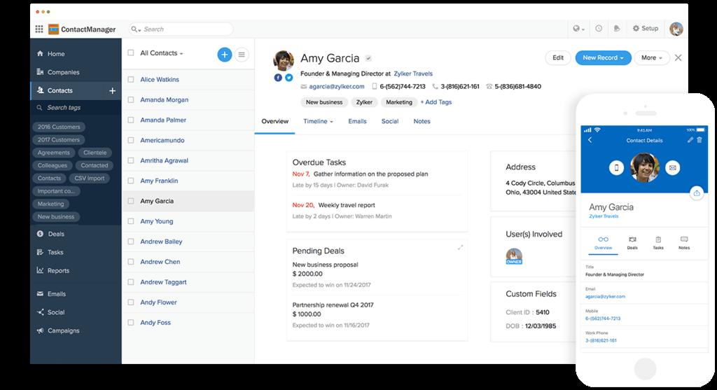 2020 Best Contact Management Software 2