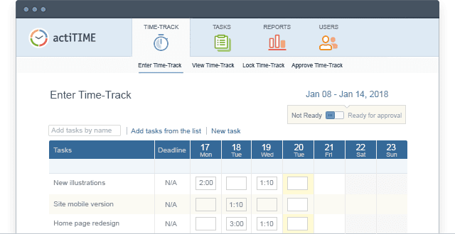 Top Employee Time Tracking Software 8