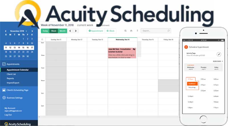 vCita Vs Acuity Scheduling – A Detailed Comparison 2