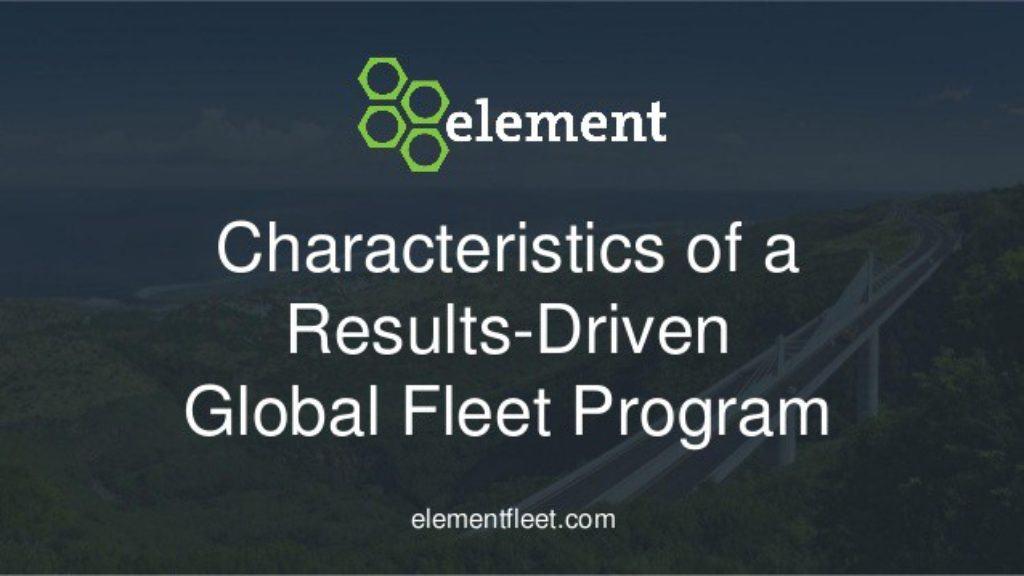 Element Fleet Management Review 2